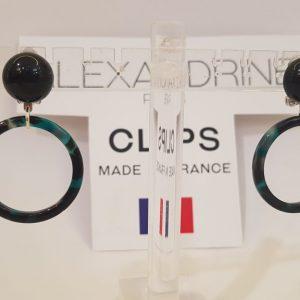 Boucles d'oreilles CLIPS Alexandrine Paris