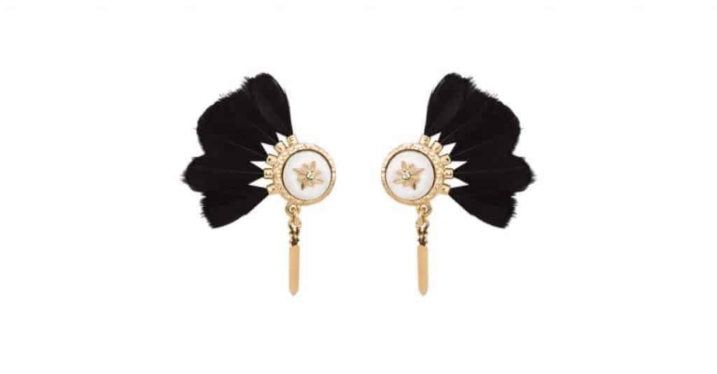 livraison gratuite le plus fiable achat original Boucles d'oreilles Hipanema - Le Jardin des Hespérides