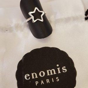 Bague Argent Enomis Paris