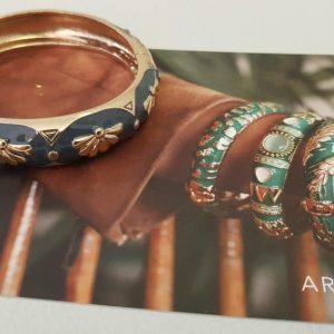 Bracelet ARGELOUSE Bordeaux, BLEU GRIS