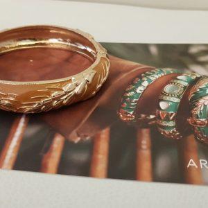 Bracelet ARGELOUSE Bordeaux, JAUNE