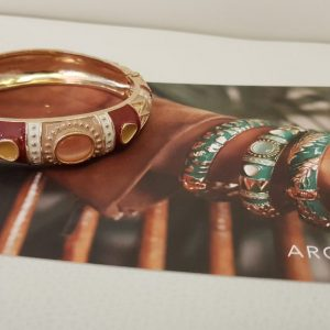 Bracelet ARGELOUSE Bordeaux, ROUGE