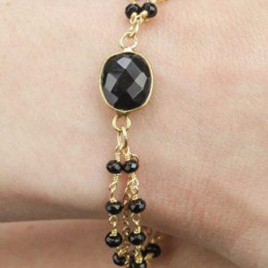 Bracelet double pierres fines L'Atelier des Dames