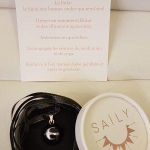 BOLA Hirondelle Plaqué-Argent SAILY