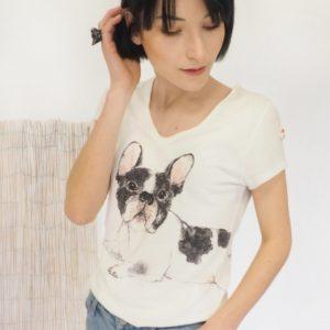 T-shirt BOULEDOGUE NACH Bijoux