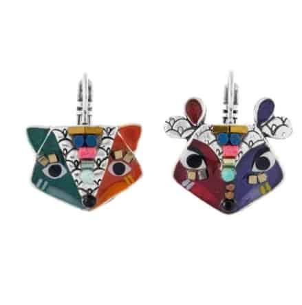 Boucles d'oreilles TARATATA Collection BELLE ET RUSEE