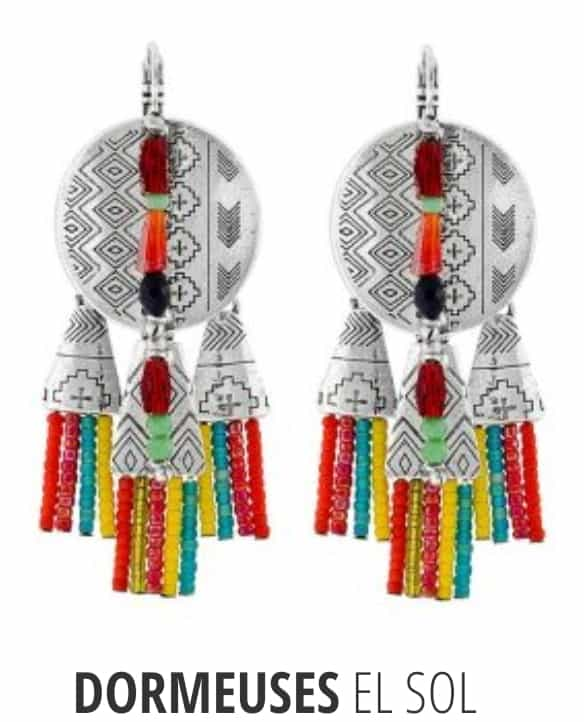 Boucles d'oreilles TARATATA Collection EL SOL