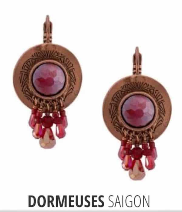 Boucles d'oreilles TARATATA Collection SAIGON