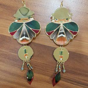 Boucles d'oreilles SATELLITE Paris Collection HAWAI