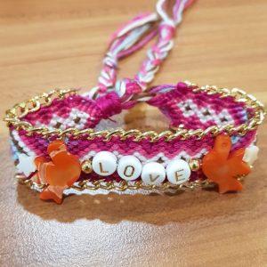 Bracelet Brésilien HYPNOCHIC Love