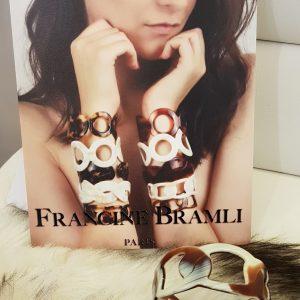 Bracelet Manchette FRANCINE BRAMLI Paris