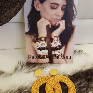 Boucles D'oreilles FRANCINE BRAMLI Paris